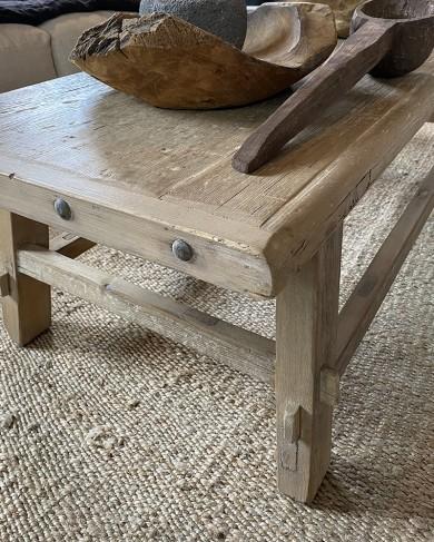 Table basse vintage en teak