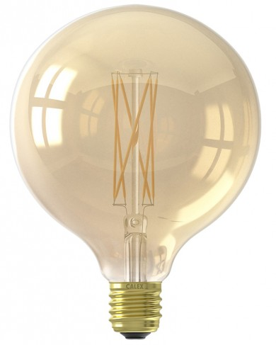 Ampoule Led Filament Globe G125 Lamp Dimmable Gold