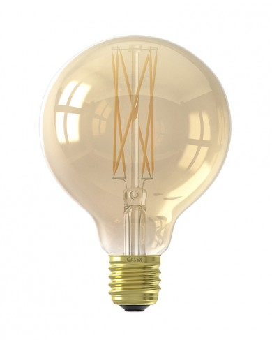 Ampoule Led Globe G95 Lamp Dimmable Gold