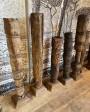 Bougeoir High en bois - pièce unique