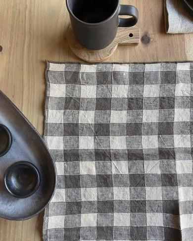 Set de table Vintage Vichy en Lin