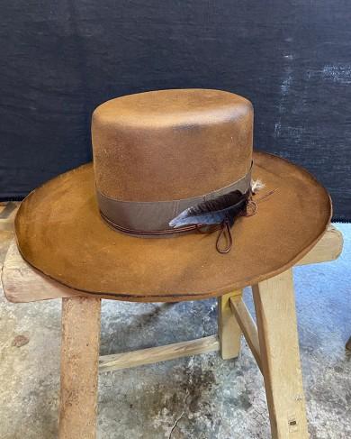 Chapeau Don Quijote en feutre par Agave Road Hats