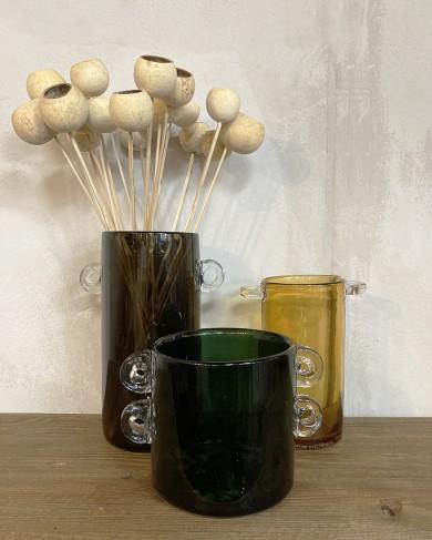 Vase Wind & Fire Vert foncé