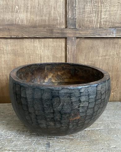 Coupe Naga en bois de cèdre - pièce unique