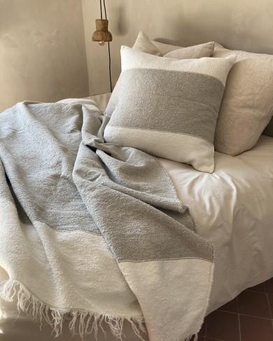 Plaid Charlotte en lin & coton par Libeco