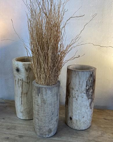 Pot/Mortier en bois