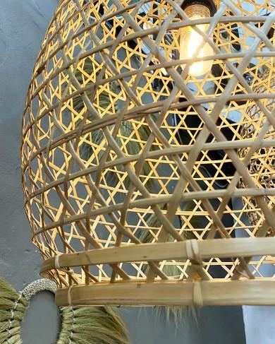 Suspension Nyepi en bambou