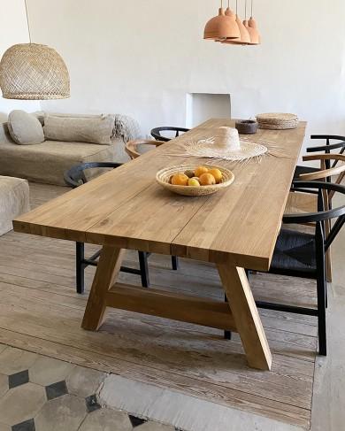 TABLE CANTINA en TECK indoor/outdoor