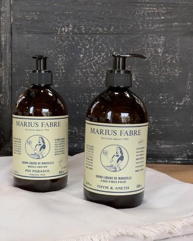 Savon de Marseille liquide à l'huile d'olive 500ml