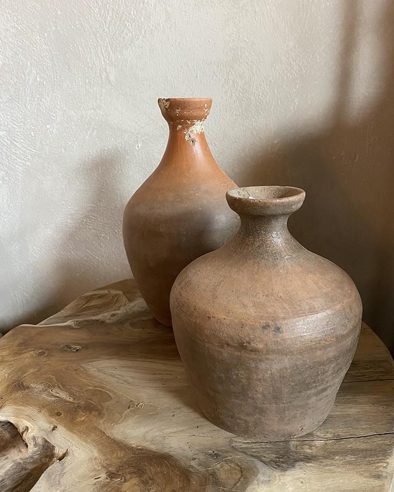 Bouteille Antik en argile - pièce unique