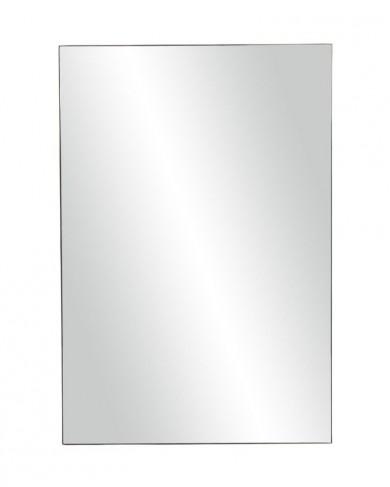 Miroir rectangulaire palace en fer noir